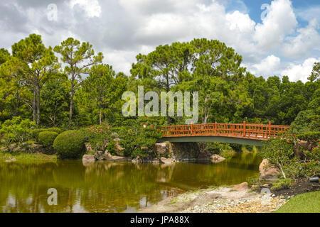 Morikami Japanese Gardens, Delray Beach, Florida, USA Stock Photo ...
