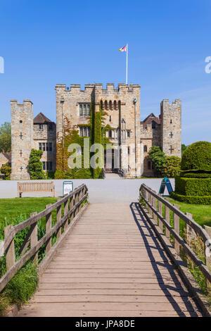 England, Kent, Hever, Hever Castle - Stock Photo