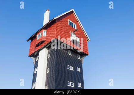 England, Suffolk, Thorpeness, House in The Clouds - Stock Photo