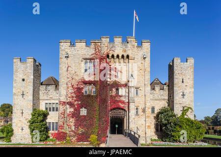 England, Kent, Edenbridge, Hever Castle - Stock Photo