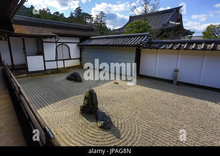 Japan, Kyoto City, Nanzen-Ji Temple - Stock Photo