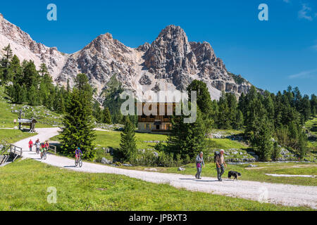 Fanes, Dolomites, South Tyrol, Italy. - Stock Photo