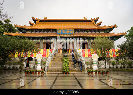 Po Lin monastery main hall - Stock Photo