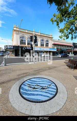 City Centre, Adelaide Street, Maryborough, Queensland, QLD, Australia - Stock Photo