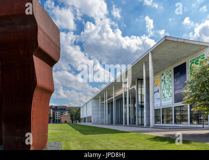 Pinakothek der Moderne art gallery, Munich, Bavaria, Germany - Stock Photo