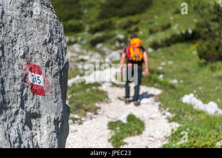 Sorapiss, Dolomites, Veneto, Italy. - Stock Photo
