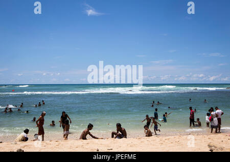 Tangalle beach , Sri Lanka - Stock Photo