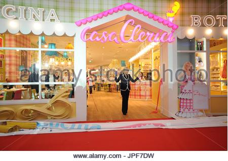 Opening Restaurant Antonella Clerici. Marcianise (Ce), at the ...