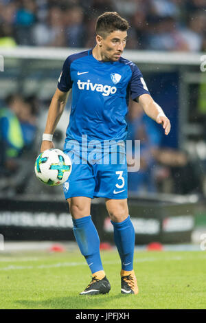 Bochum, Deutschland. 28th July, 2017. Danilo SOARES (BO), mit Ball, Einzelaktion mit Ball, Aktion, Fussball 2. Bundesliga, - Stock Photo