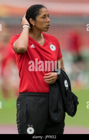 Bundestrainerin/ Trainerin/ Trainer Steffi JONES (GER), Viertelfinale, Match 26, Deutschland (GER) - Daenemark (DEN) - Stock Photo