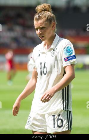 Linda DALLMANN (GER), Viertelfinale, Match 26, Deutschland (GER) - Daenemark (DEN) 1:2, am 30.07.2017 in Rotterdam/Niederlande. - Stock Photo