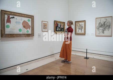 London, UK. 1st Aug, 2017. Matisse in the Studio a new exhibition at the Royal Academy of Arts. It runs from 5 August - Stock Photo