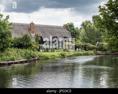 The Granary at Flatford, Suffolk, England. United Kingdom. - Stock Photo