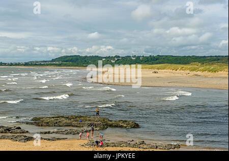 Reiver Ogmore Estuary Ogmore by Sea South Wales - Stock Photo