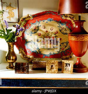 Oriental objects on table - Stock Photo