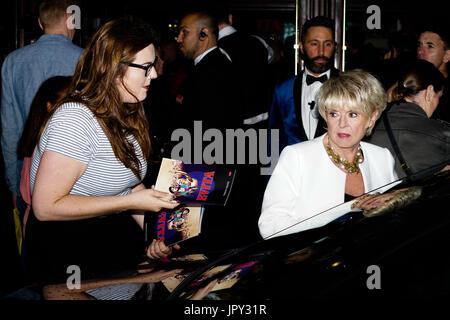 Phoenix Theatre, London, UK. 2nd Aug, 2017. Gloria Hunniford attends Evita - Press Night. Credit: See Li/Alamy Live - Stock Photo