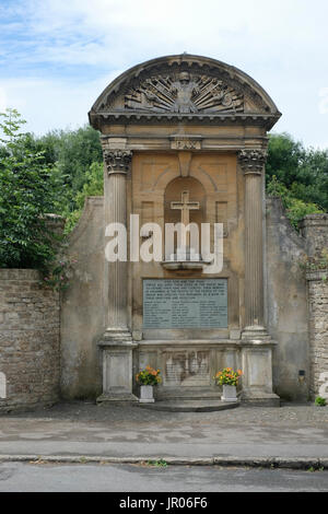 Images of Lacock, a picturesque village in Wiltshire,England - Stock Photo