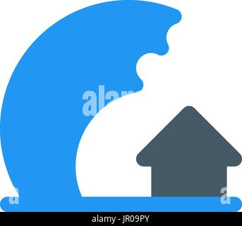 tsunami - Stock Photo