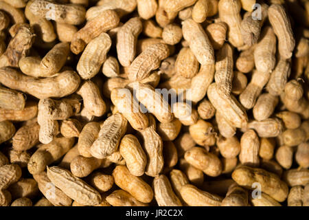 Close up of peanuts - Stock Photo