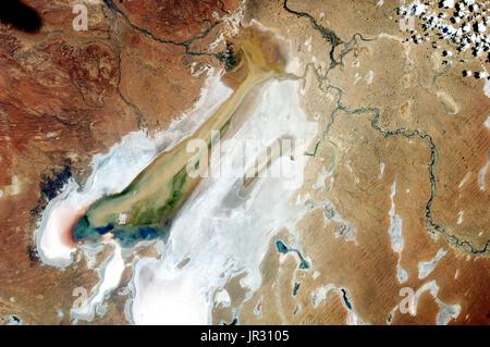 Lake Eyre,Australia - Stock Photo