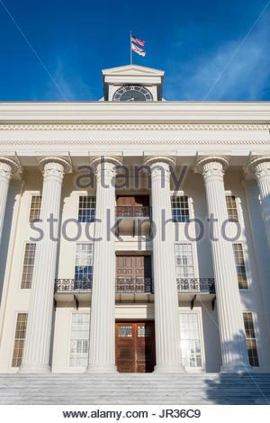 United States, Alabama, Montgomery. Alabama State Capitol building. - Stock Photo