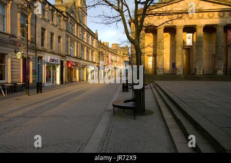 High St, Elgin, Scotland, UK - Stock Photo