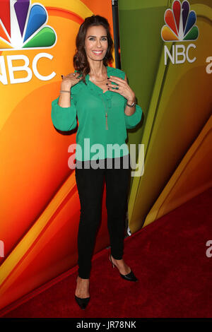 Beverly Hills, Ca. 3rd Aug, 2017. Kristian Alfonso at the 2017 NBC Summer TCA Press Tour at the Beverly Hilton Hotel - Stock Photo
