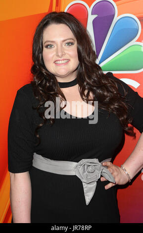 Beverly Hills, Ca. 3rd Aug, 2017. Lauren Ash at the 2017 NBC Summer TCA Press Tour at the Beverly Hilton Hotel in - Stock Photo