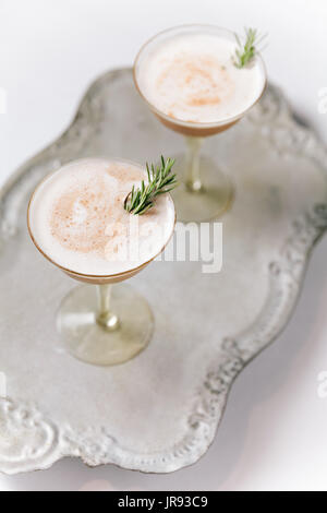 Creamy Cocktails - Stock Photo