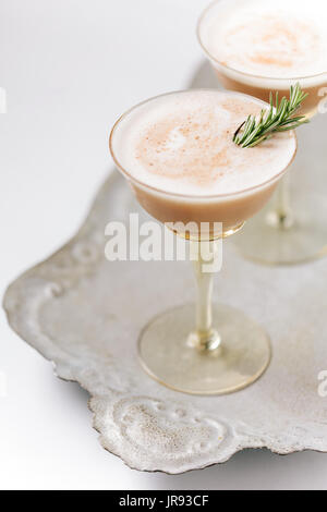 Chocolate Martini Cocktail - Stock Photo