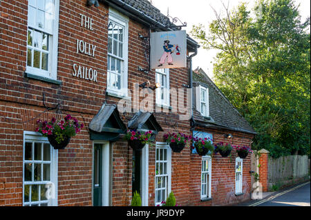 The Jolly Sailor public house the Suffolk village of Orford. - Stock Photo