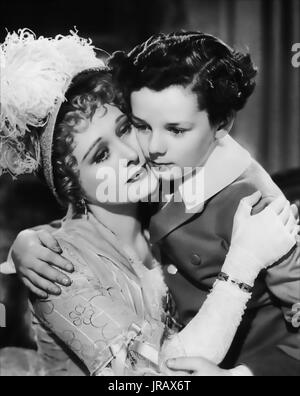 LITTLE LORD FAUNTLEROY 1936 United Artists film with Freddie Bartholomew and Dolores Costello - Stock Photo