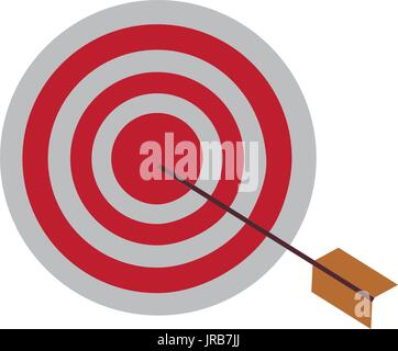 target market consumer bullseye or goal - Stock Photo