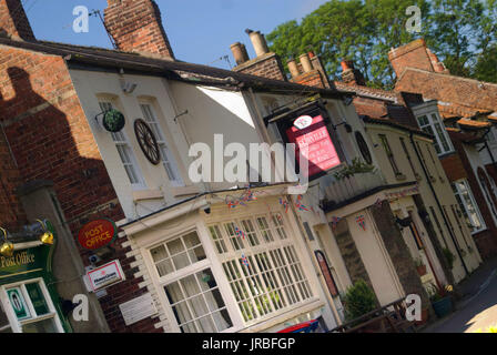 The McOrville public house, Elwick village, County Durham - Stock Photo