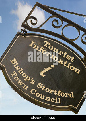 Bishop's Stortford Tourist Information - Stock Photo