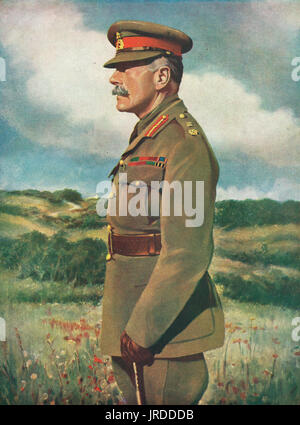 Field Marshal Sir Douglas Haig - Stock Photo