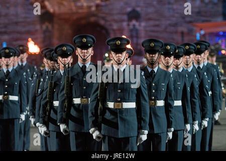 The 2017 Royal Military Tattoo, Edinburgh Castle - Stock Photo