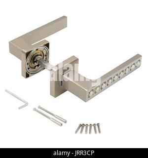 Classic door handle - Stock Photo