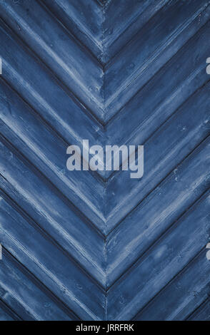 blue grunge wooden background - Stock Photo