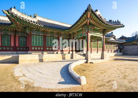 Changdeok Palace in Seoul, Republic South Korea. - Stock Photo