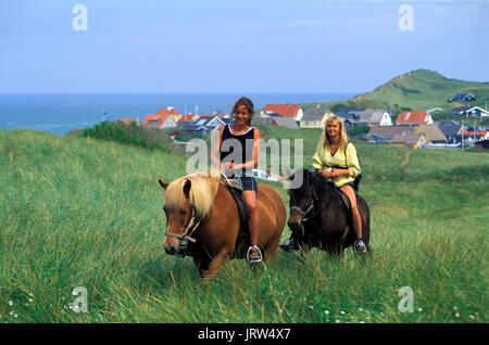 Lönstrup, Northern Jutland, Denmark, Europe - Stock Photo