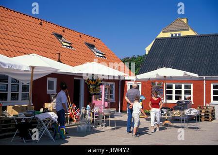 Souvenirshop in Lönstrup, Northern Jutland, Denmark, Europe - Stock Photo