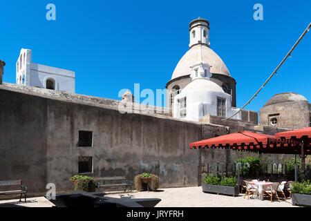 chiesa di santa sofia, church santa sofia, in anacapri on the island of capri, italy, - Stock Photo