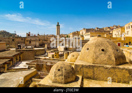 Souk Medina of Fez, Fes el Bali. Morocco, Maghreb North Africa - Stock Photo