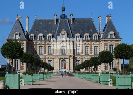 Chateau de Sceaux - grand country house in Sceaux, Hauts-de-Seine, not far from Paris, France. Located in a park - Stock Photo
