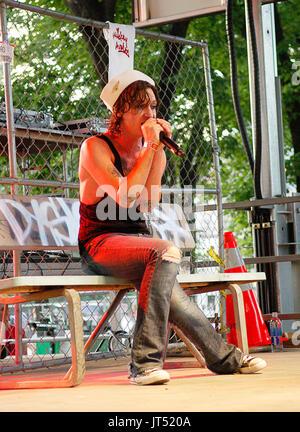 Mickey Avalon performs 2007 Lollapalooza Chicago,Il - Stock Photo