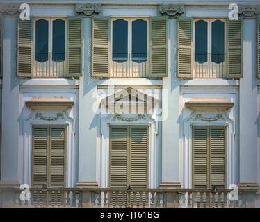 Cassano d'Adda (Milan, Lombardy, Italy): exterior of the historic Villa Borromeo - Stock Photo