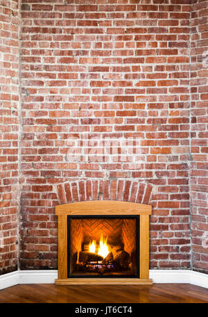 Flat Brick Wall Perspective Perfect for Painting or Picture Frame ...