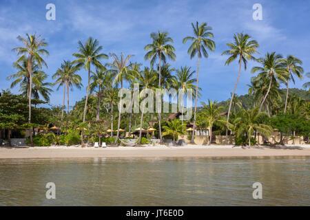 Nathon beach, Koh Samui, Thailand - Stock Photo