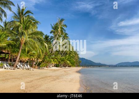 Nathon beach, Laem Yai, Koh Samui, Thailand - Stock Photo